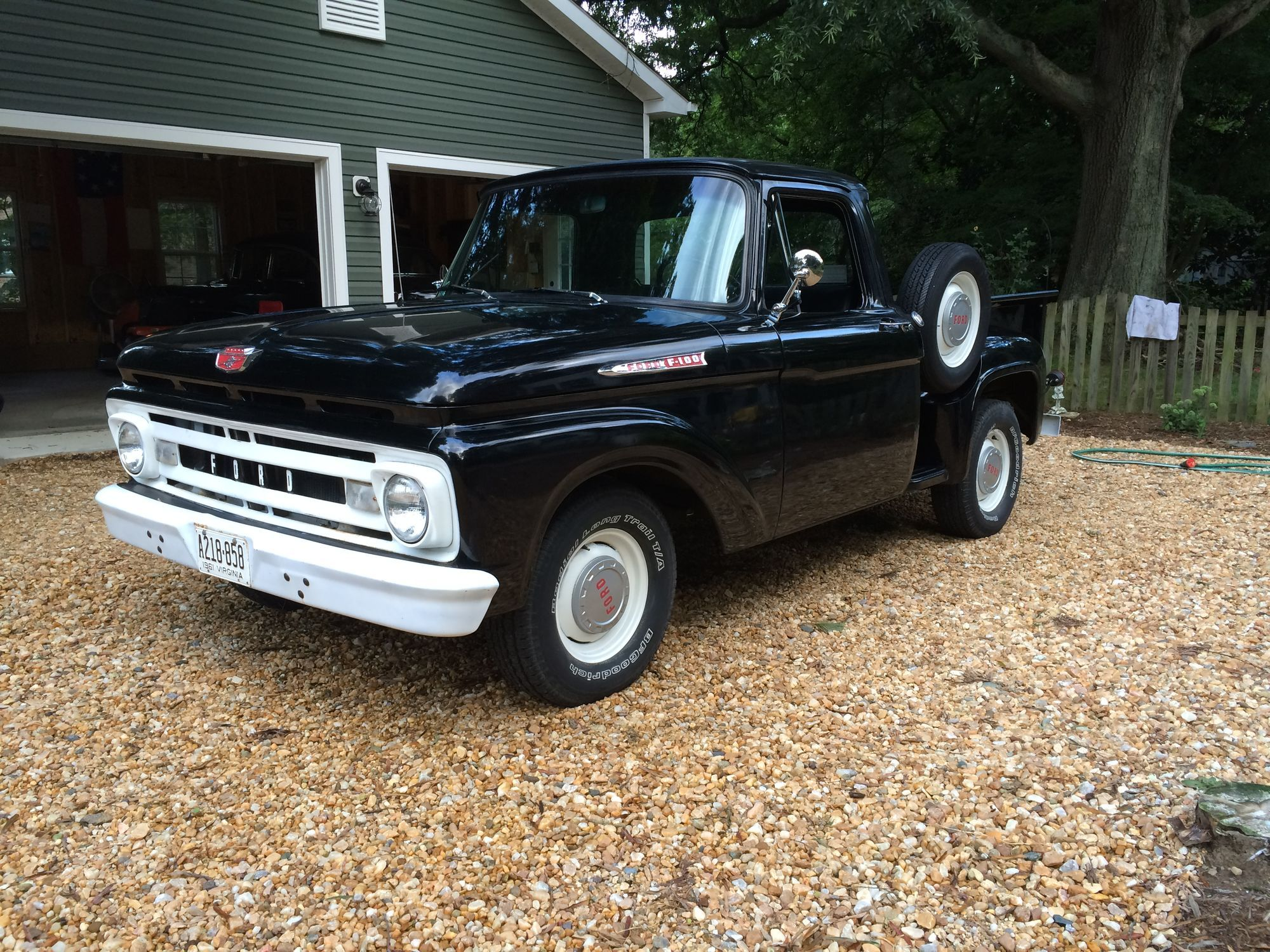 1961 Ford F100 Swb Stepside Ford Truck Enthusiasts Forums Classic Ford Trucks Pickup Trucks Ford Trucks