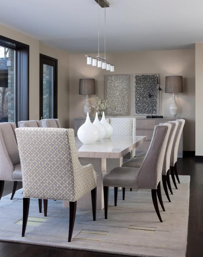 Perfect Dining Room  Dining Room  Pinterest  Room Taupe Pleasing Taupe Dining Room Chairs Design Decoration
