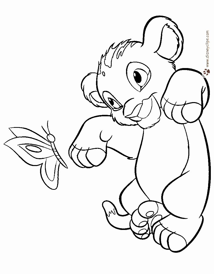 Lion Printable Coloring Pages Inspirational The Lion King Coloring Pages Lion Coloring Pages King Coloring Book Cartoon Coloring Pages