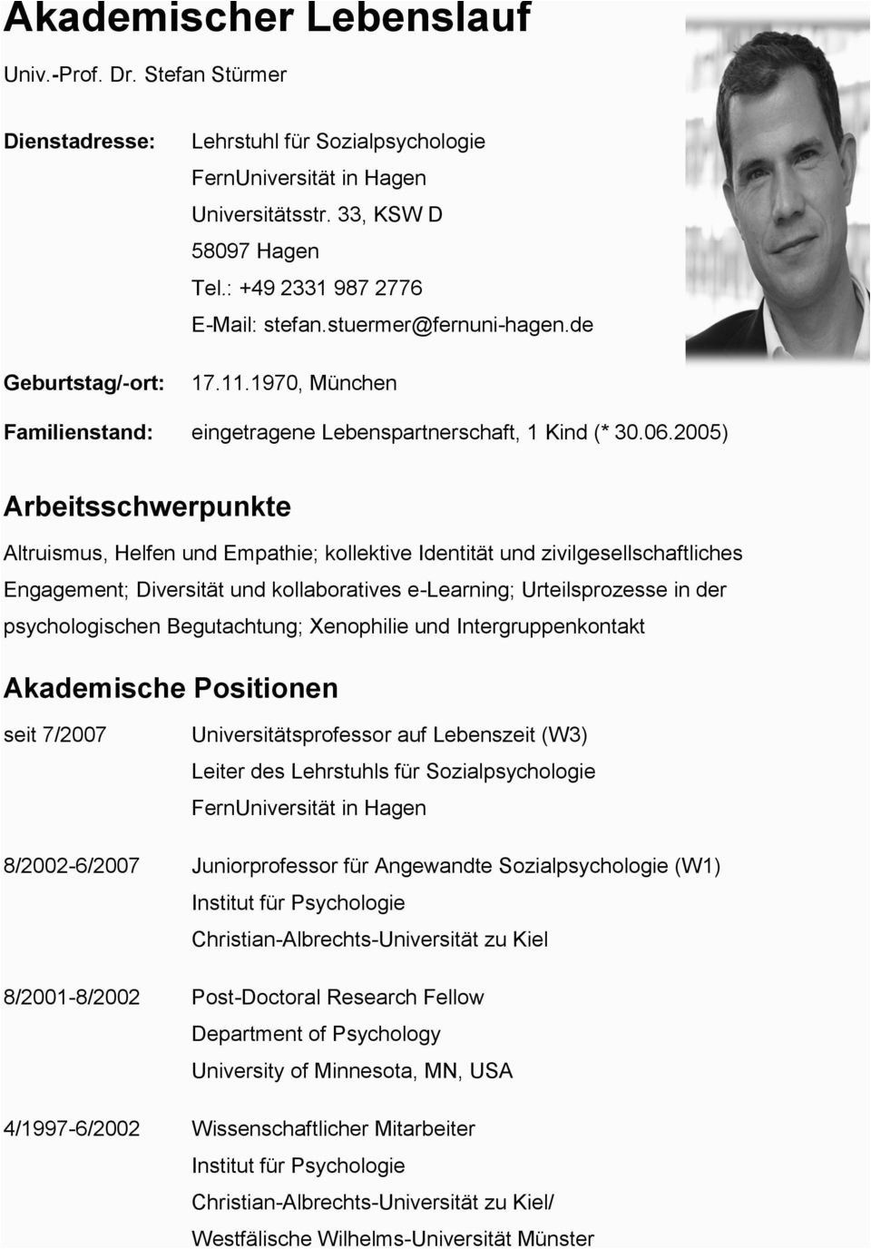 Akademischer Lebenslauf Deutsch In 2020 Lebenslauf Universitat Munster Leben