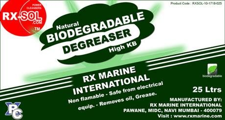 Degreaser Natural Biodegradable High KB | Degreaser for Industries