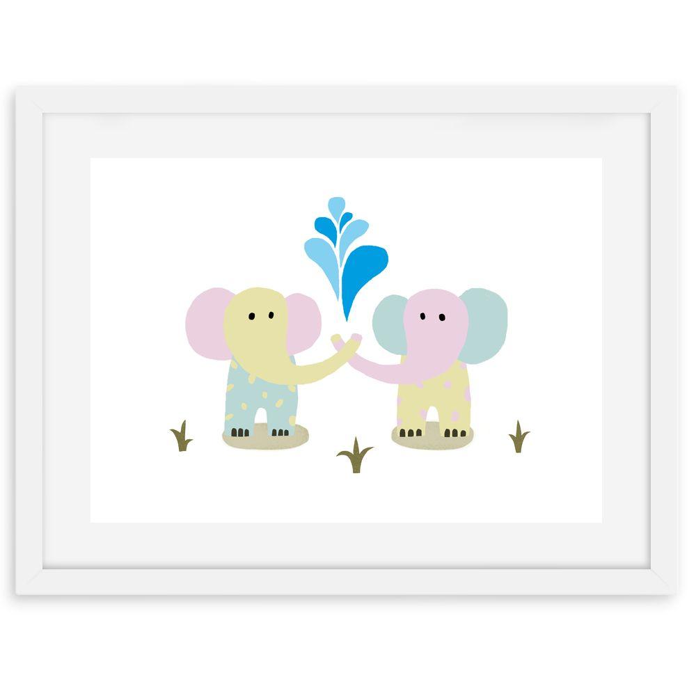 Kinderzimmer #Kinder #Spielraum #spielen #Elefant #Tiere #Pastell ...