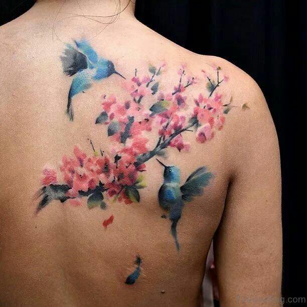 Image Result For Image Result For Feminine Flower Back Tattoos