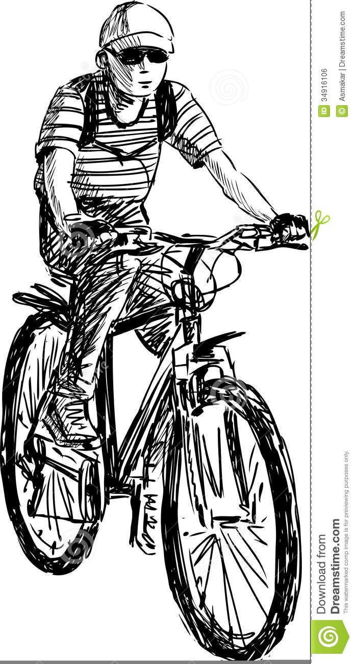 Pin On Bicycle Sketch