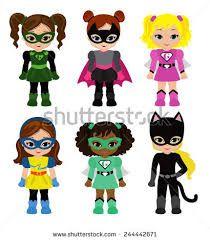 Image result for superhero girls clipart