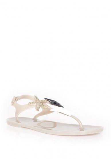 Yves Saint Laurent Starry flip flop sandal - Nathalie Schuterman Webshop