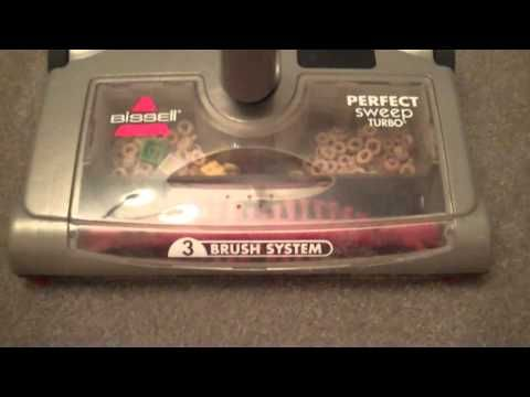 Video Review of Bissell Perfect SweepTurbo