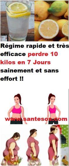Régime rapide et très efficace perdre 10 kilos en 7 Jours ...