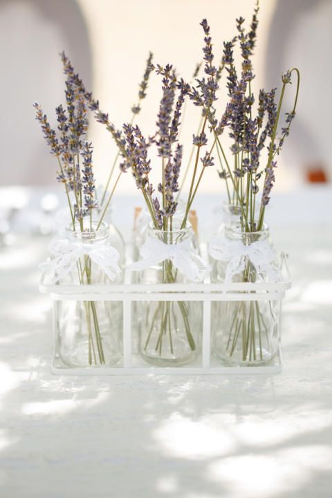 Fresh Linens and French Lavender, Rustic Luxury Wedding Inspiration is part of Rustic wedding table decor - We're loving the trend for simple, classic wedding decor, get the look for your own big day with this beautiful wedding inspiration shoot by Claire Graham Photography