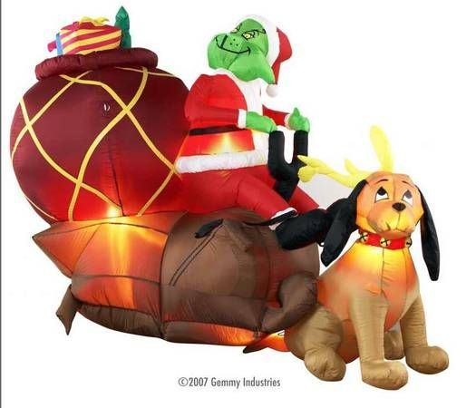 Christmas Inflatables, Snowglobe, others cottage christmas