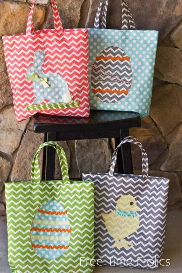 Simple spring sewing projects for beginners sewing projects easy sew easter tote bag 33 simple spring sewing projects for beginners negle Choice Image