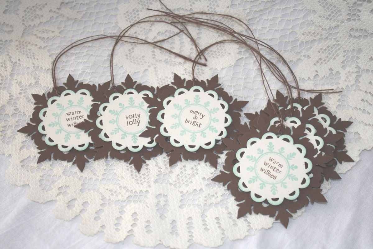 Handmade+Holiday+Gift+Tags++Set+of+6+by+EndlessInkHandmade+on+Etsy,+$7.00