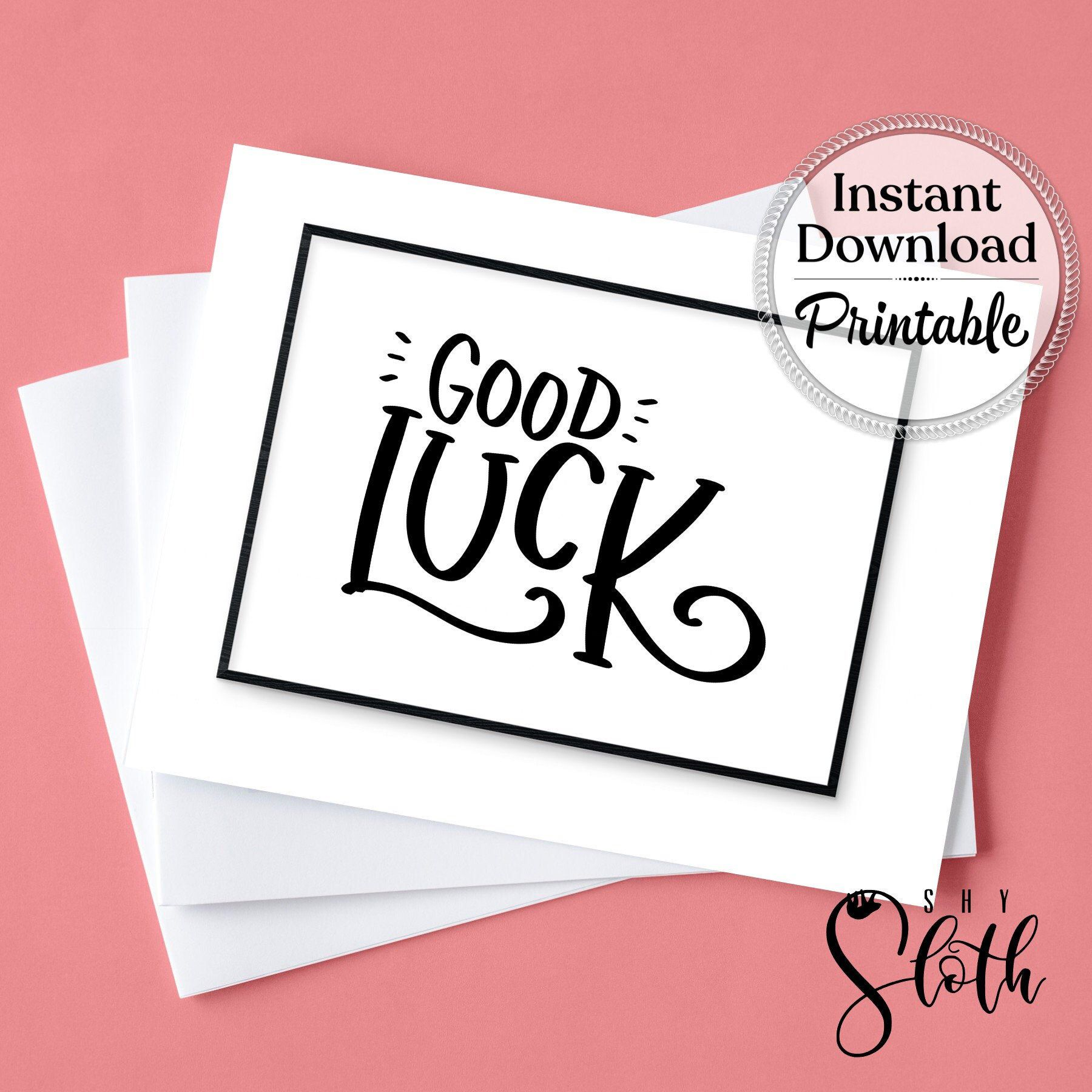 Excited to share this item from my etsy shop good luck
