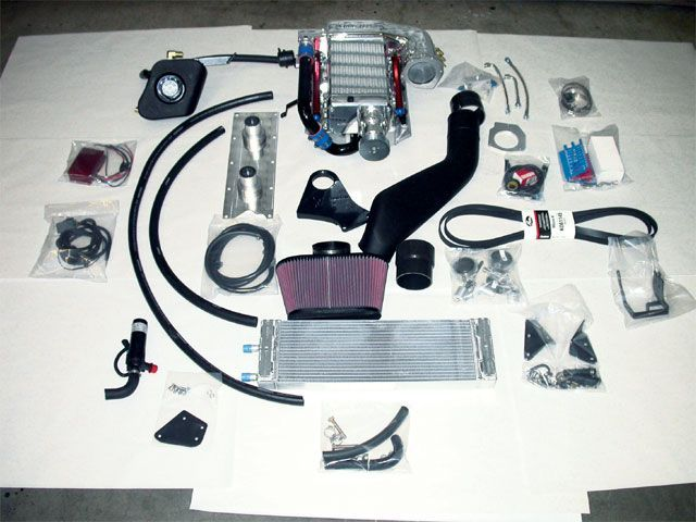 Kenne Bell C5 Supercharger Kit Ls Engine Twin Screw System