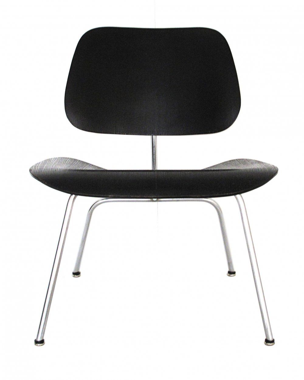 For sale lcm chair with original black aniline dye finish