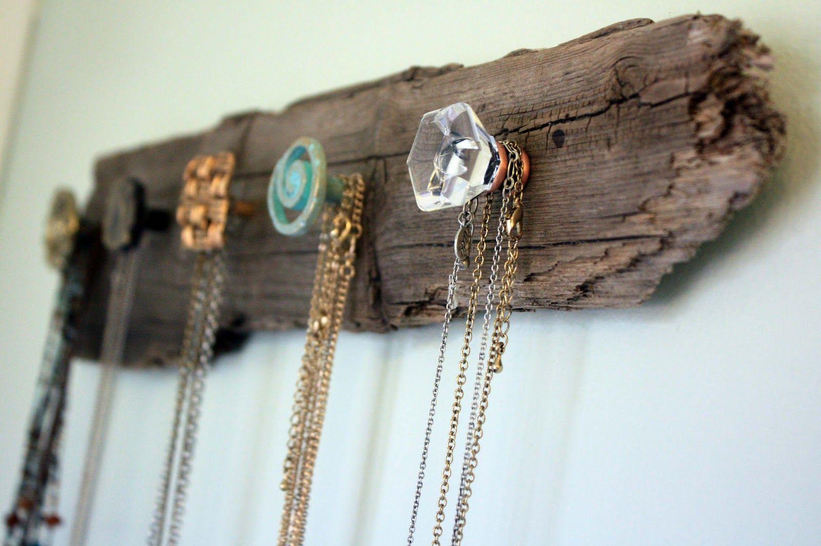 Visibly Moved DIY Necklace Holder Diy Pinterest Diy necklace