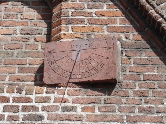 Zonnewijzer Jacobikerk - Zonnewijzer - Wikipedia