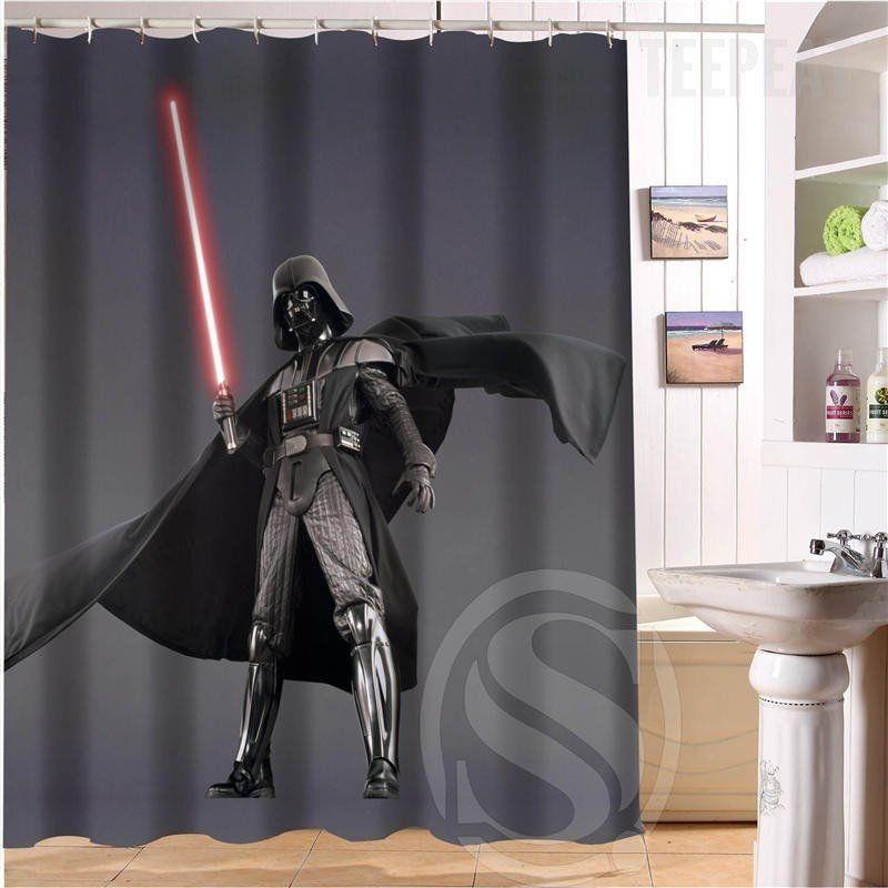 Star Wars Darth Vader Shower Curtain Darth Vader Vader Darth