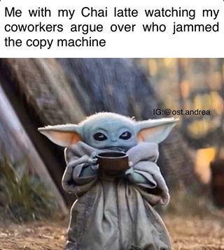 Pin By Shaggy Rider Shadowhunter On Memes Baby Memes Yoda Funny Yoda Meme