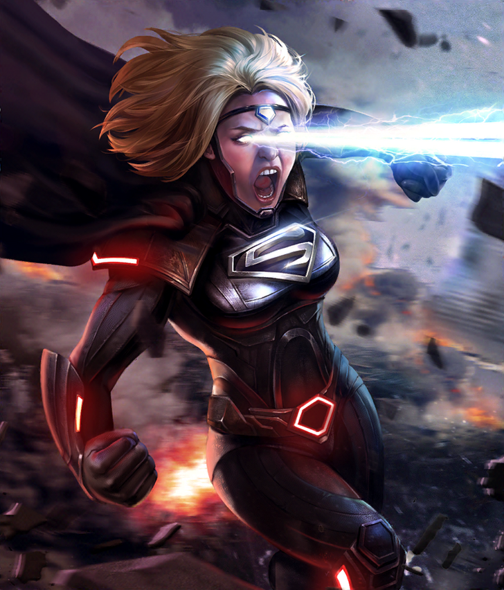 Injustice 2 Mobile Roster Supergirl Comic Supergirl Dc Comics Characters