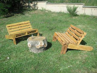 Salon de jardin palette DIY | Palette garden, Backyard ...