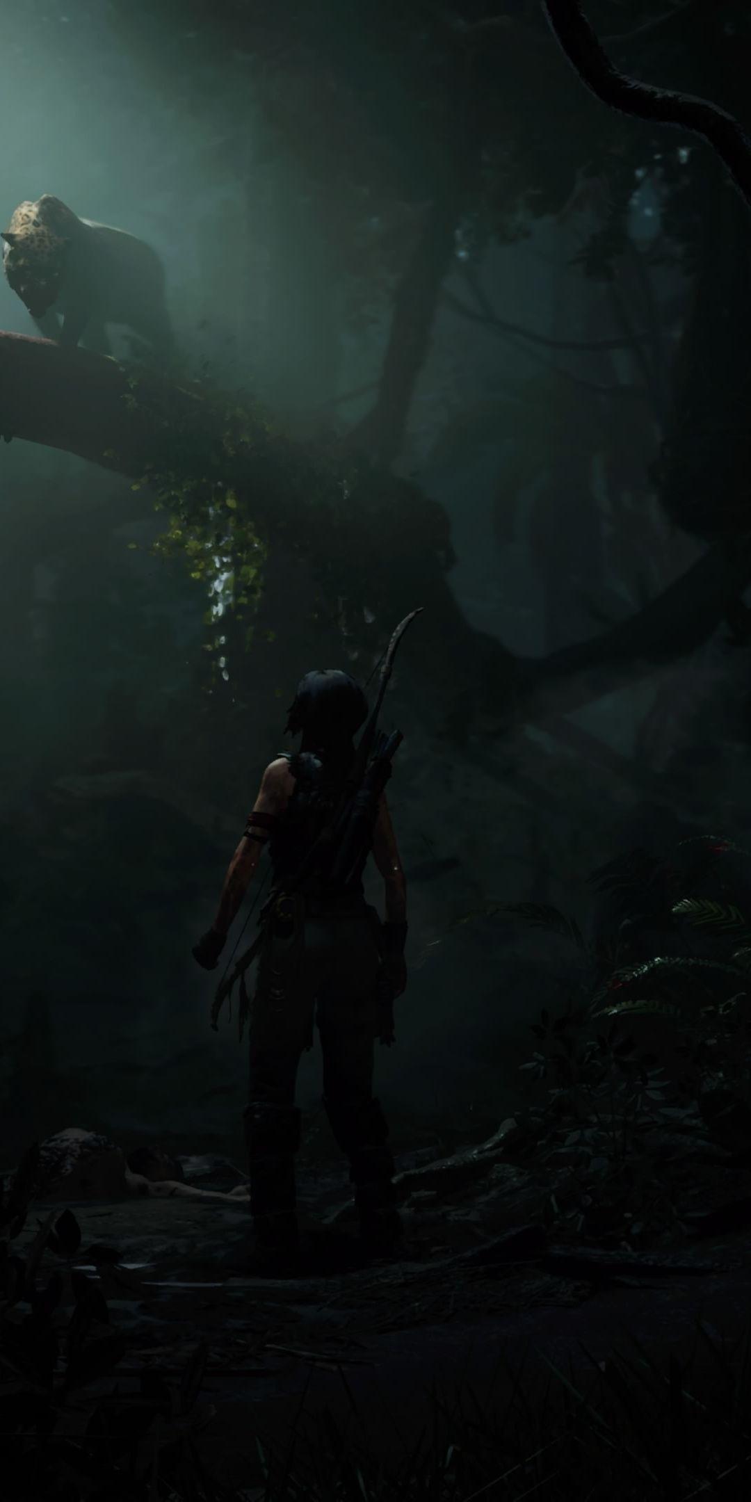 Tomb Raider Outdoor Dark 1080x2160 Wallpaper Tomb Raider Tomb Raider Lara Croft Lara Croft Tomb