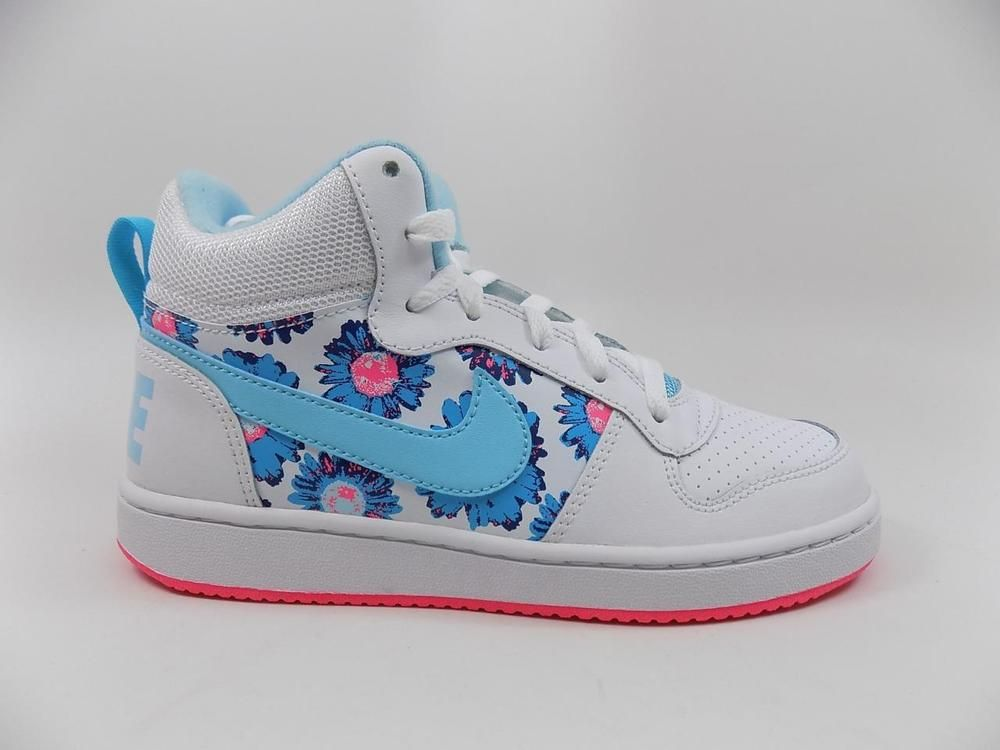 particle Engaged successor  Nike Court Borough Mid Print GS lot Brand New 845103 101 Size 4.5Y 4.5  (eBay Link) | Nike, Unisex shoes, Brand new