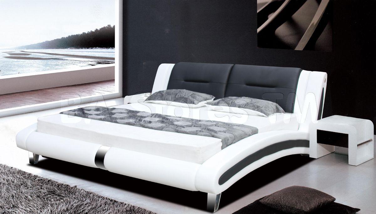 Sienna Designer King Size Bed In Black