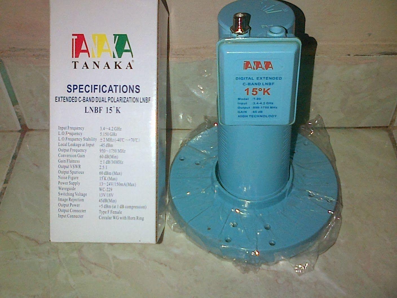Kami Menjual Lnb C Band Single Merk Tanaka Band Pori Home Appliances