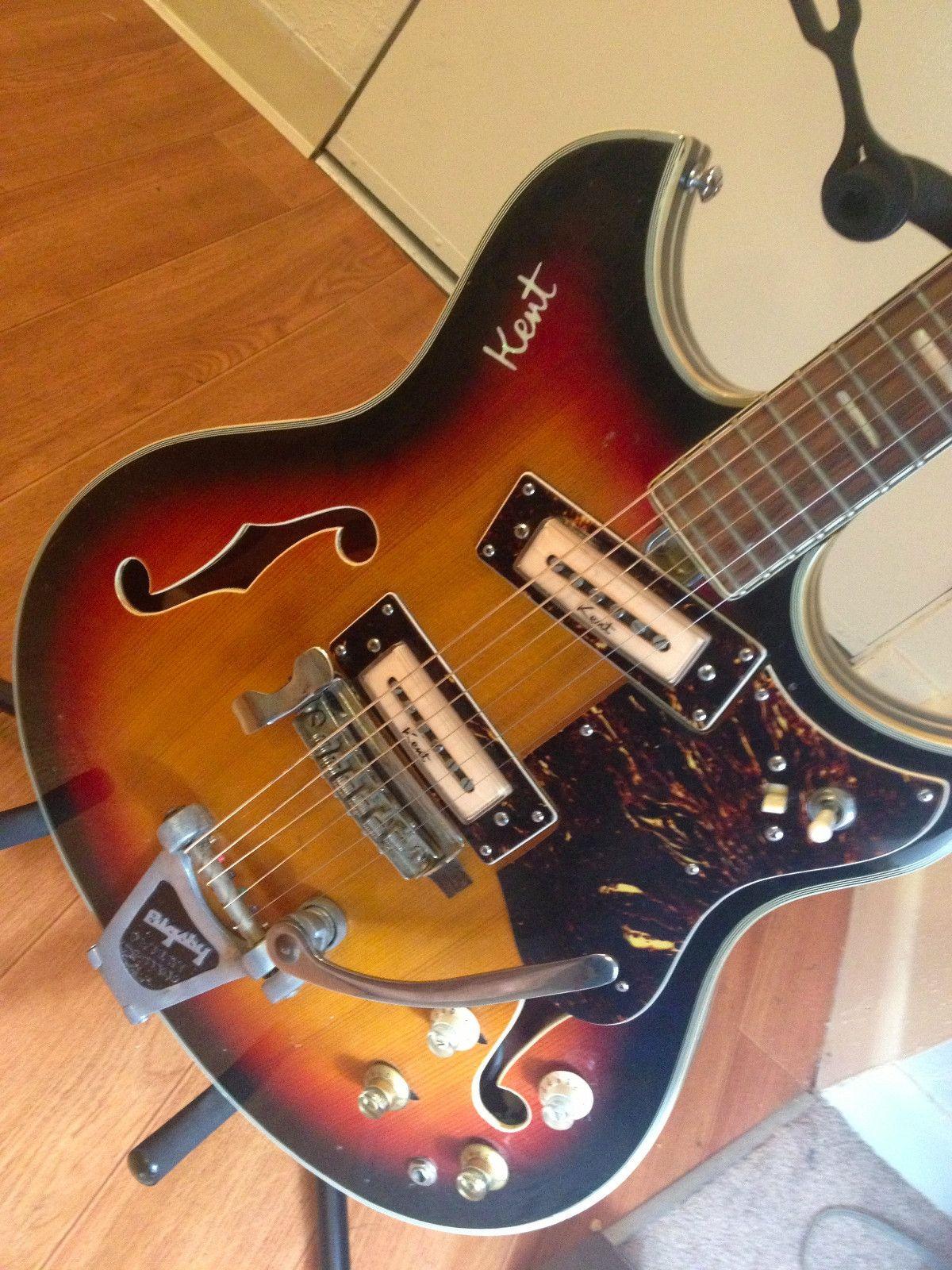 medium resolution of vintage 1960 s kent guitar rare