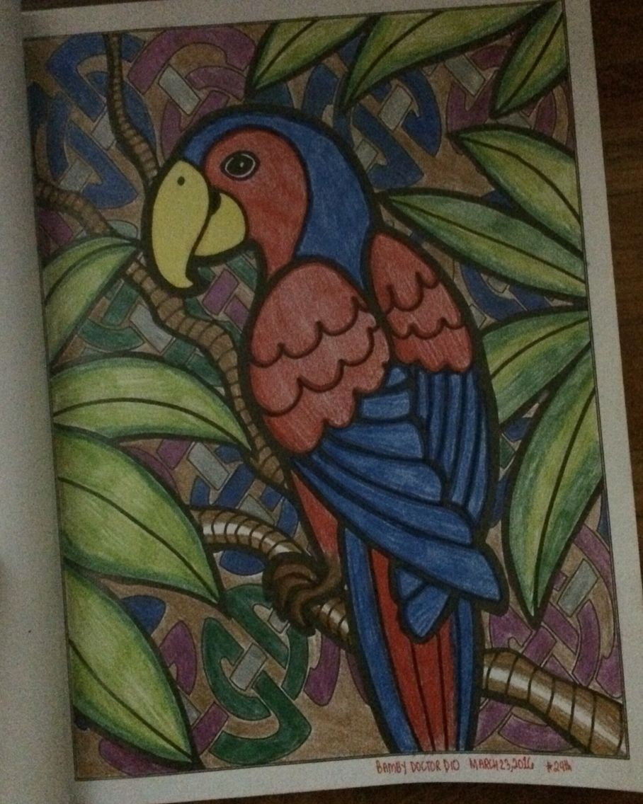Title Ibong AdarnaThe Singing Bird Coloring Page Mystical Animals Creative Minds Book For Adults Medium Smiggle Colour Collection Crayola