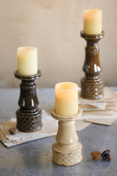 New Candleholders...