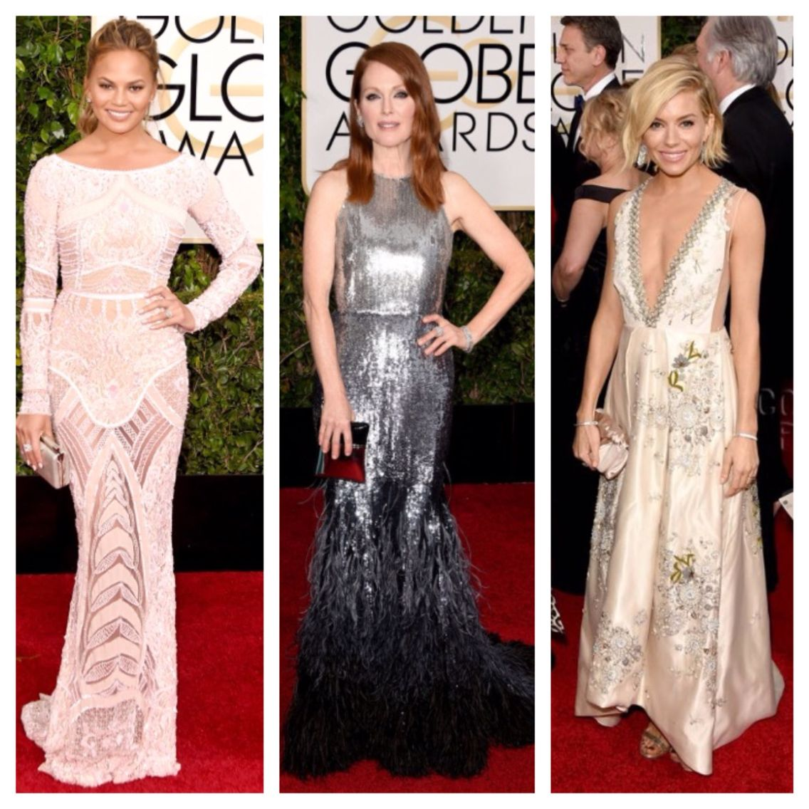 900e2cc040 My Golden Globes 2015 Best Dressed  Chrissy Teigen (Zuhair Murad ...
