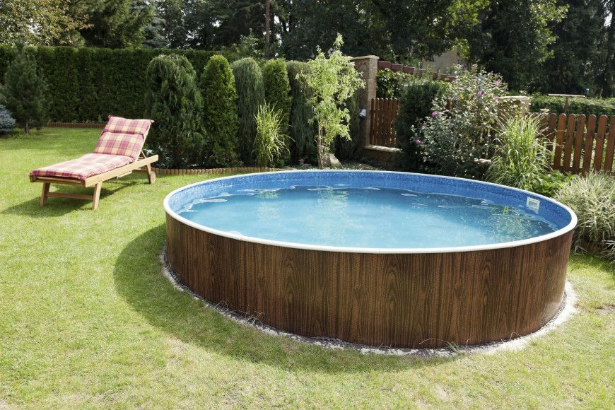 14 Great Above-Ground Swimming Pool Ideas Schwimmbäder, Pool - pool garten selber bauen