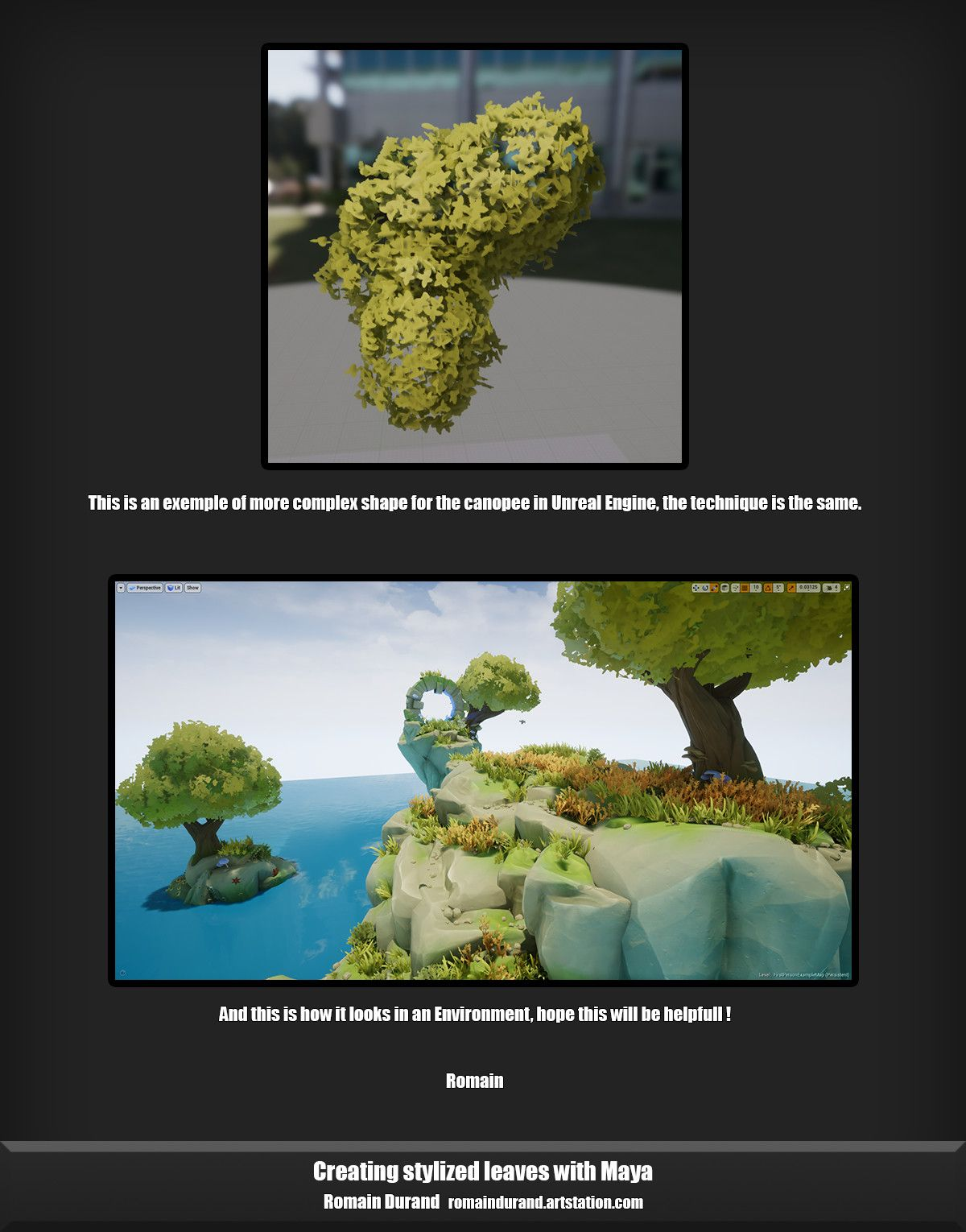 Creating Stylized Leaves In Maya Maya Modeling Unreal Engine Maya