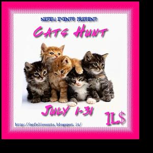 Cats Hunt: Jul 1-31   nefelievents.blogspot.it   Hints & SLURLs: http://nefelievents.blogspot.it/p/cats-hunt-hints-pics.html
