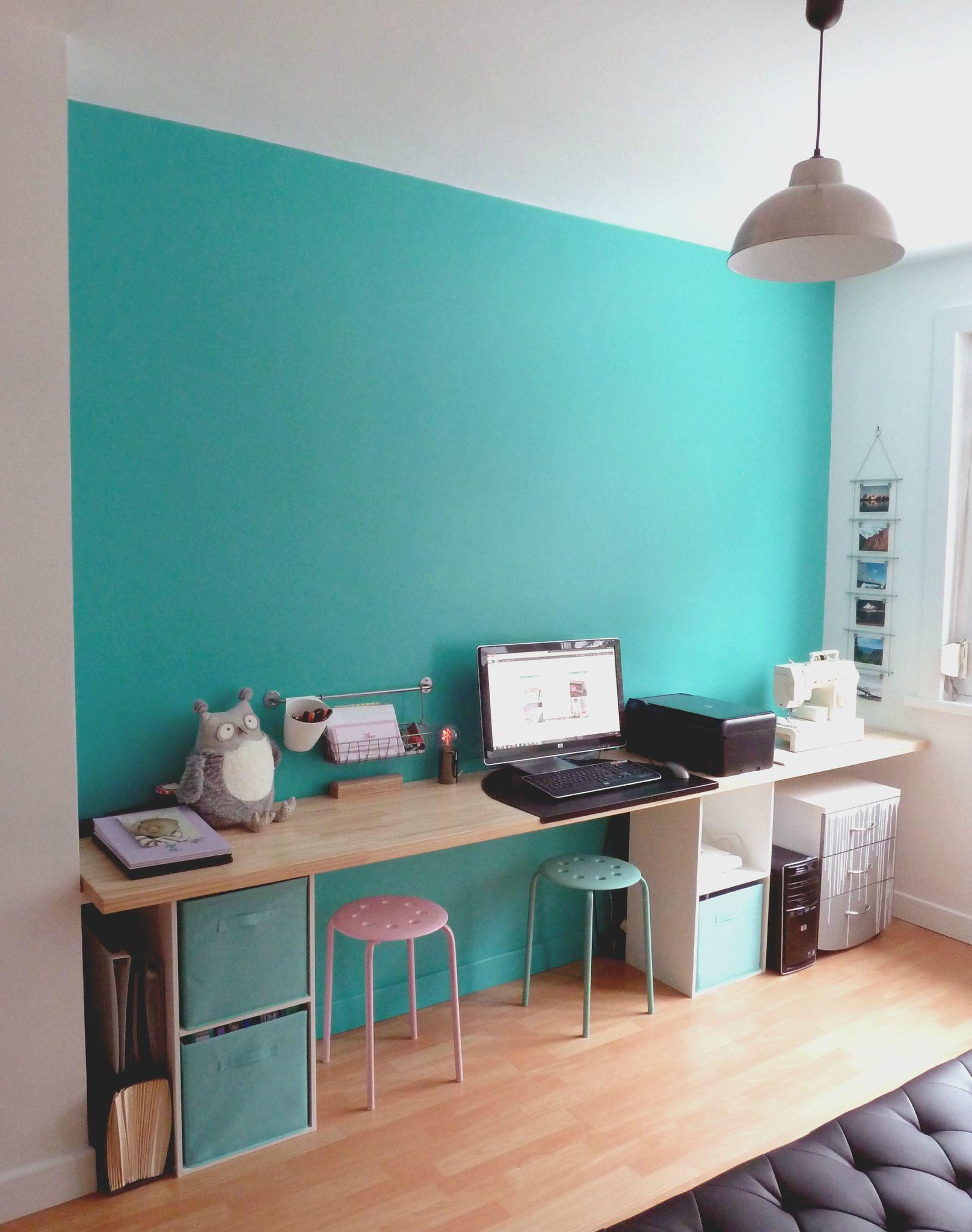 Un bureau dans lequel on aime travailler 1 air 2 d co - Amenagement bureau chambre d amis ...