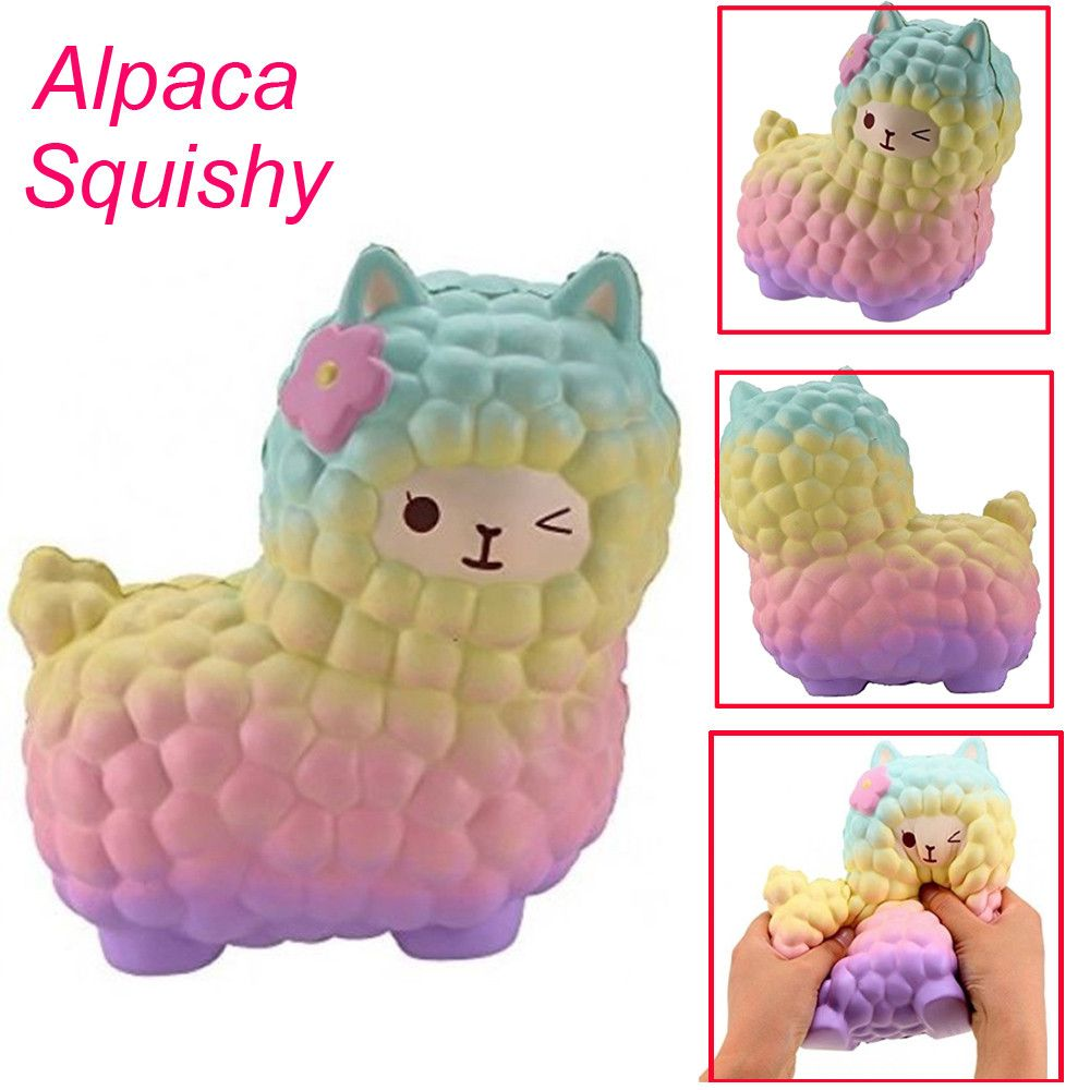 Cellphones & Telecommunications Squeeze Cute Sheep Alpaca Super Slow Rising Scented Fun Animal Toys Squishy Cartoon Squish Toys Squeeze Novelty Antistress Gift