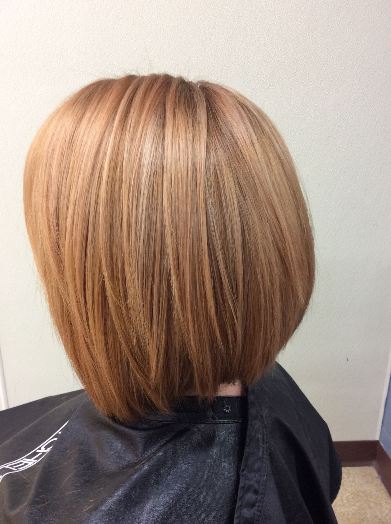 Hair color by Katie Harper. Strawberry blonde, rose gold, champagne, apricot, peach, copper hair. LOVE.
