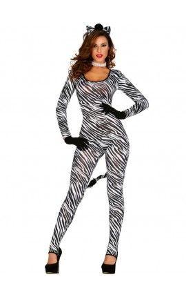 1e7cf46d0 Disfraz de cebra sexy para mujer | disfraces | Disfraces, Disfraces ...