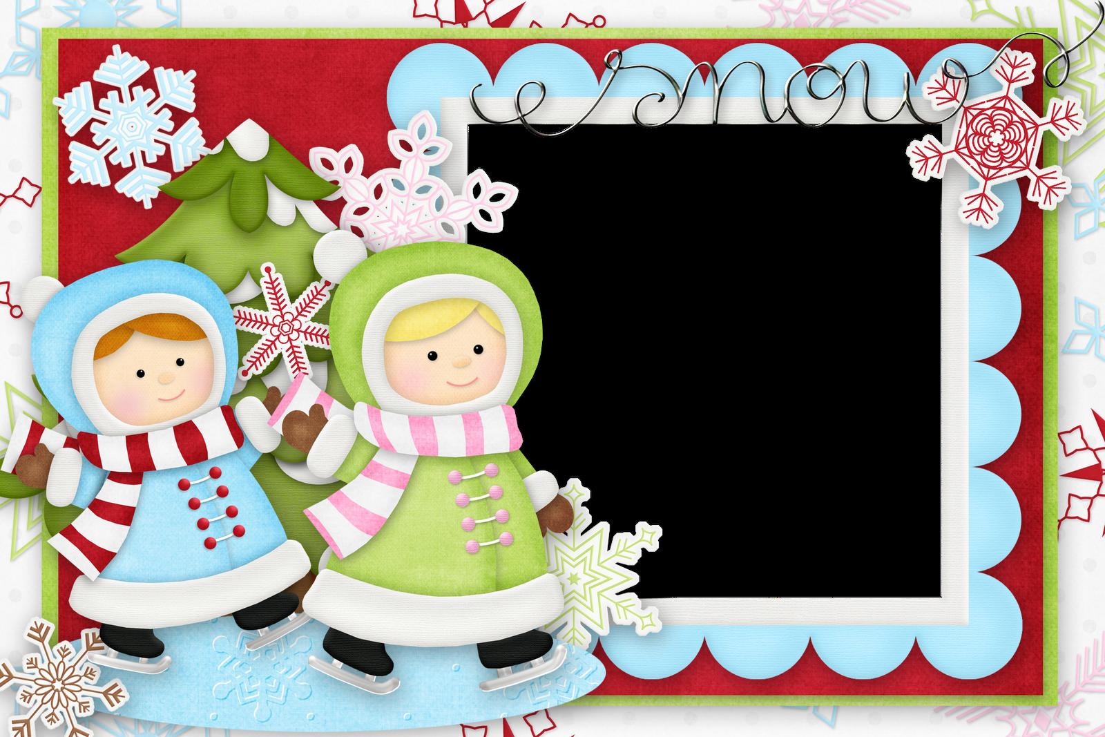 Marcos de navidad infantiles plantillas recursos y m s - Ver figuras de navidad ...