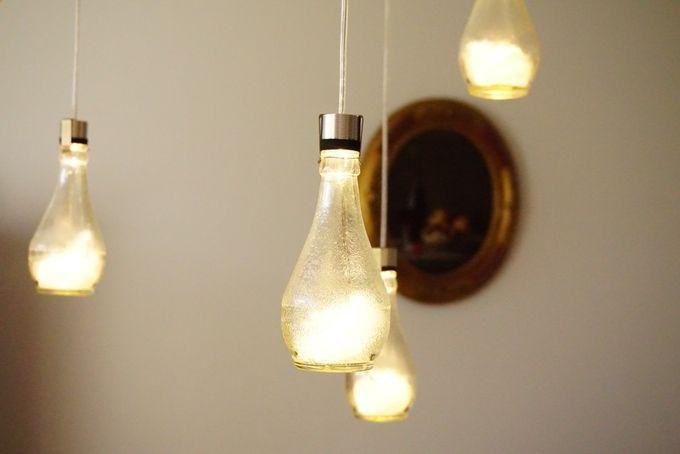 Licht leuchten light wohnen lampen glas design alu led design