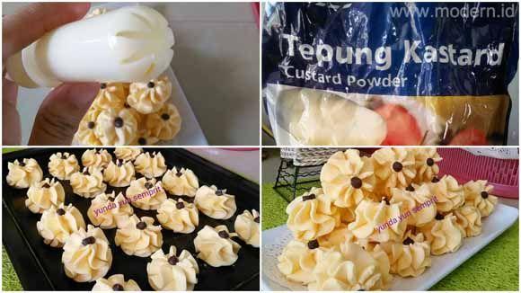 Semprit Enak Renyah Dan Lumer Di Mulut Resep Biskuit Kue Kering Resep Masakan