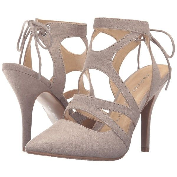 Chinese Laundry Symbol Taupe Micro Suede High Heels 60 Liked