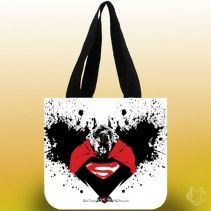 Batman Vs Superman Zombie Tote Bags