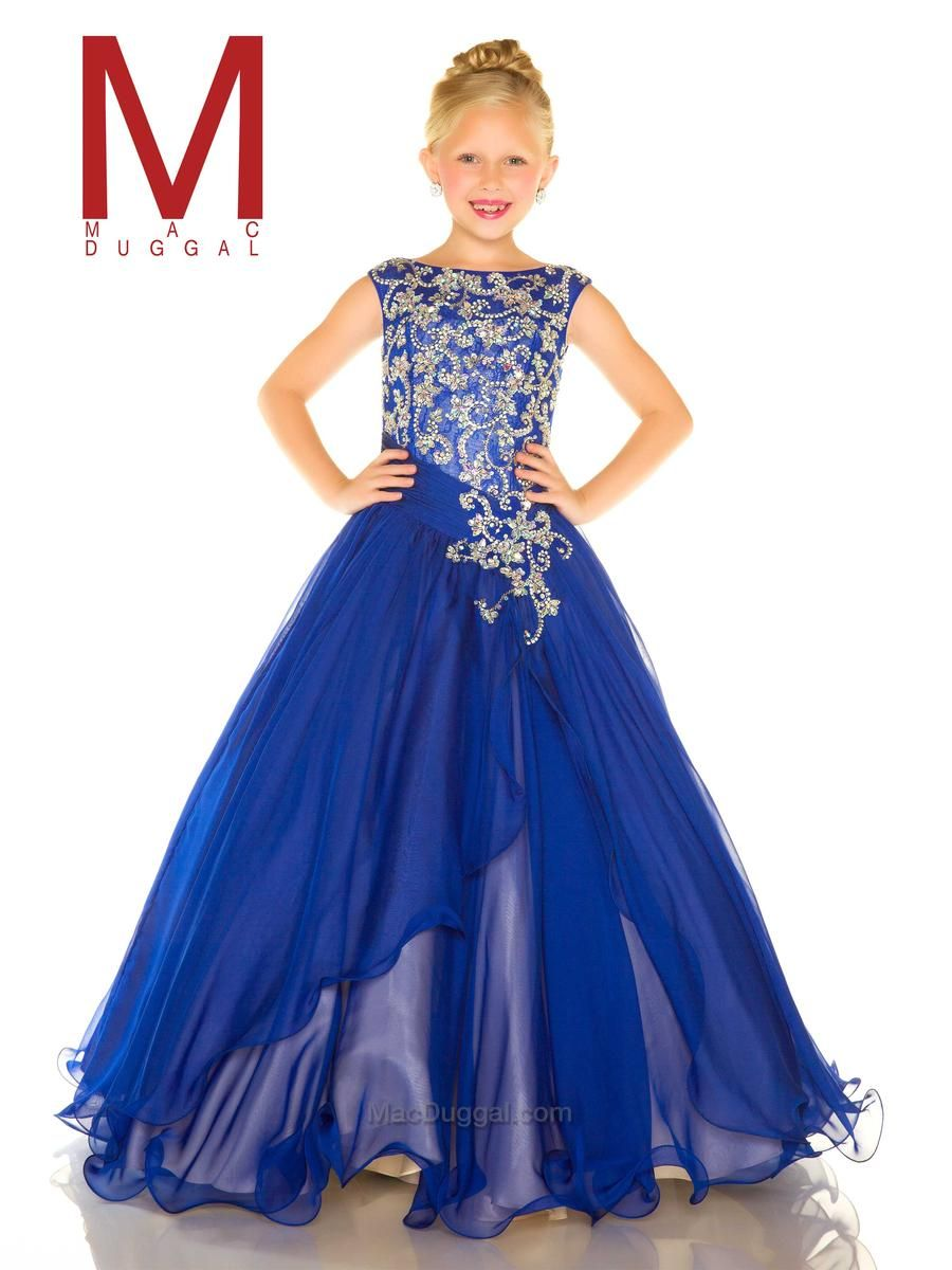Sugar Girls Pageant Dress by Mac Duggal 48387s | pageant stuff ...