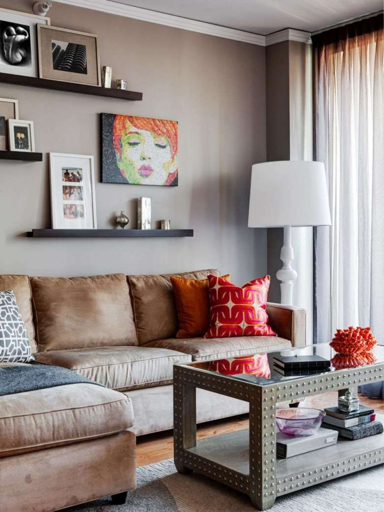 Arredare Mensole Soggiorno come arredare la parete del divano (con immagini