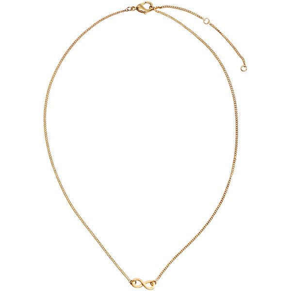 H&M Necklace with a pendant ($3.08) ❤ liked on Polyvore featuring jewelry, necklaces, gold, h&m, h&m jewelry, h&m necklace, pendant jewelry and adjustable necklace
