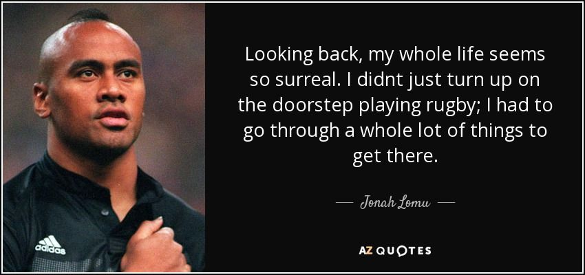 Top 13 Quotes By Jonah Lomu A Z Quotes Jonah Lomu Rare Quote Jonah