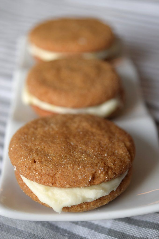 Ginger Sandwich Cookies